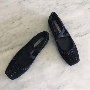 Zara Shoes - ZARA Collection ballet edition flats size 8 black